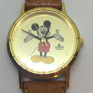 Lorus Mickey Mouse Watch Y481-1720 Original Band